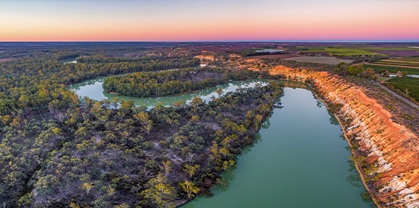 Murray River in SA
